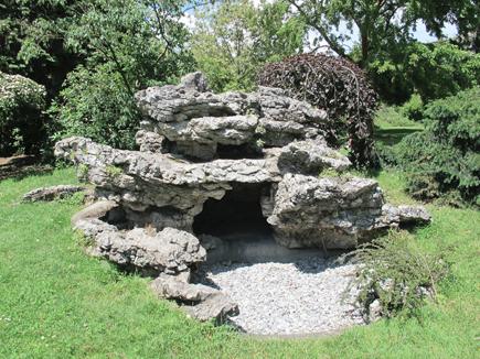 Fontaine au Parc des Franchises
